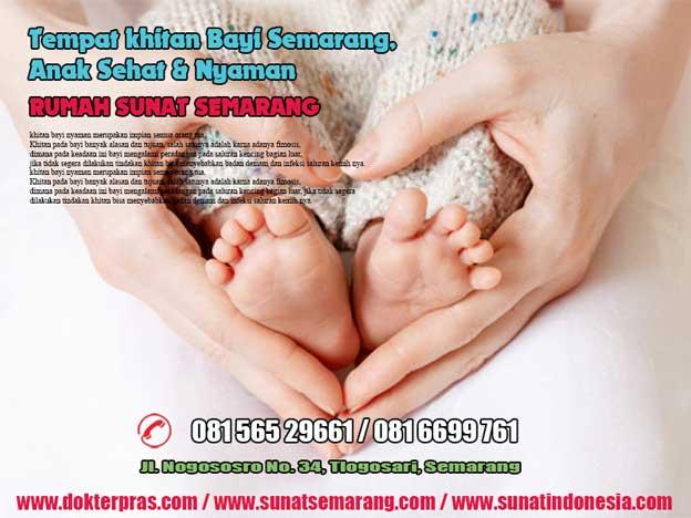 tempat khitan bayi di semarang, anak sehat dan nyaman